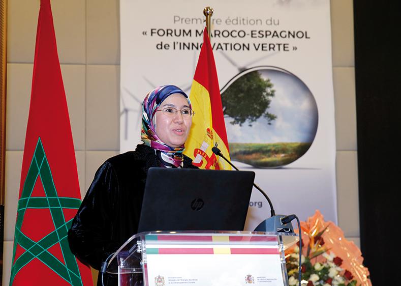 Photo of Nezha El Ouafi présente le bilan de son département