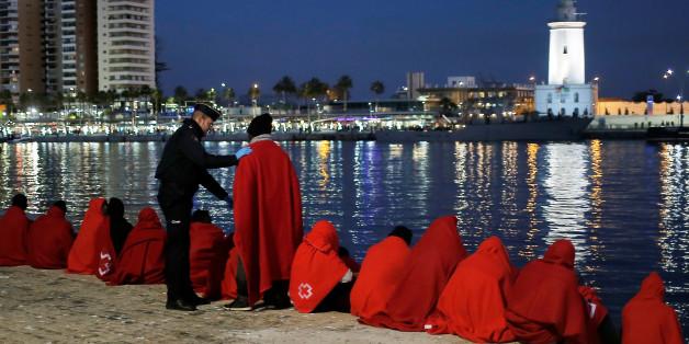 Photo of La Guardia civil intercepte 9 migrants marocains sur les côtes de Sebta