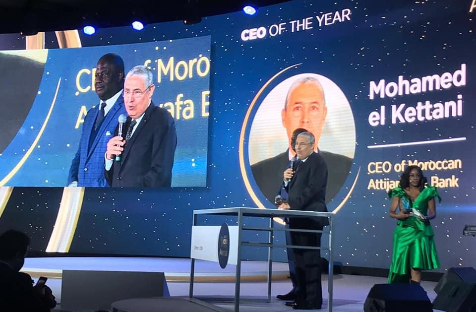 Photo of Mohamed El Kettani primé «CEO africain de l'année» à Kigali