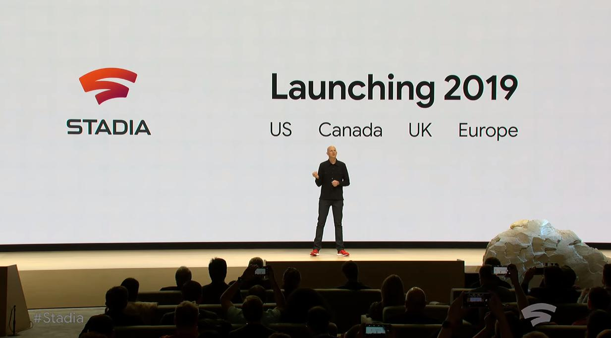 Photo de Stadia, le nouveau jeu vidéo en streaming de Google