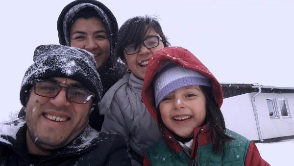 Photo de Midnight Traveler, le chaos d'une famille de migrants
