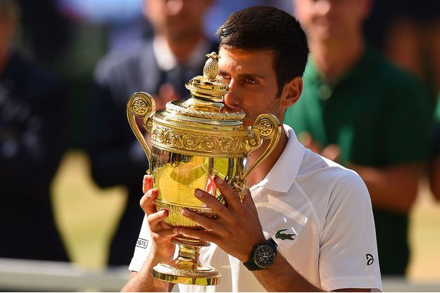 Photo de Djokovic remporte Wimbledon… après cinq heures de jeu !