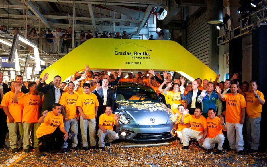 Photo of Clap de fin pour la VW coccinelle