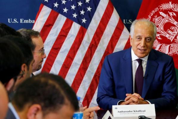 Photo de Fin du dernier cycle de négociations entre les Etats-Unis et le mouvement Taliban