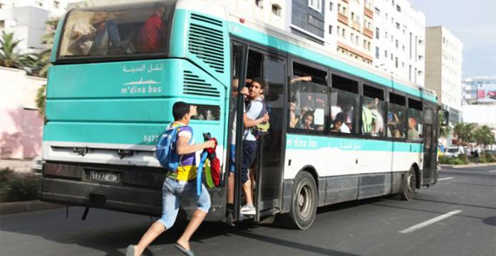 Photo of Casablanca. M'dina Bus part, le chaos s'installe