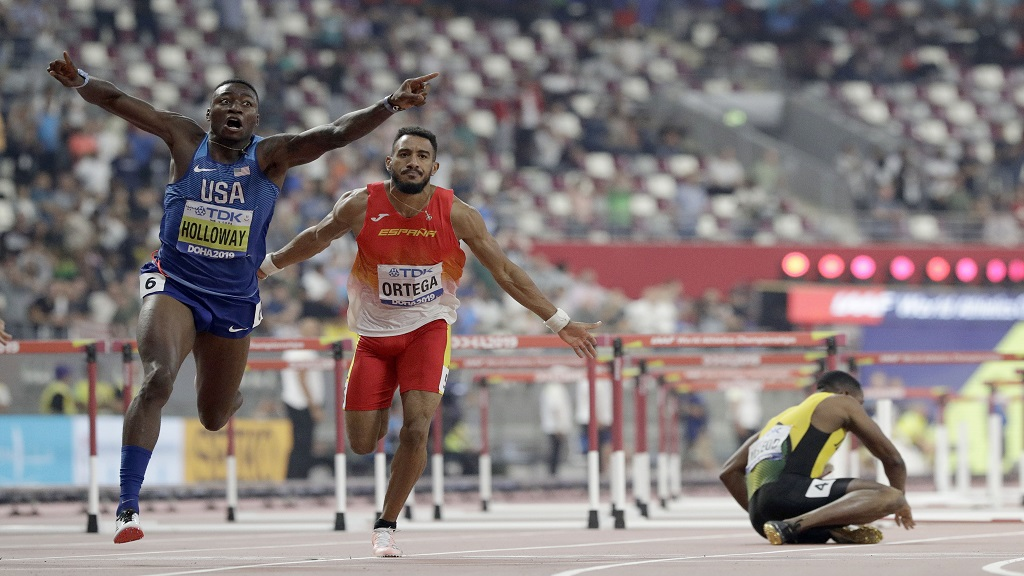 Photo of Mondiaux d'athlétisme 2019 : l'Américain Grant Holloway sacré champion du monde au Qatar
