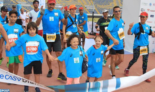 Photo of 5500 coureurs au 12ème Marathon International de Casablanca