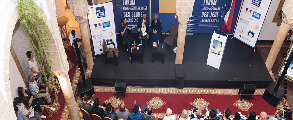Photo of Forum euro-méditerranéen d'Essaouira. Les jeunes appelés à l'engagement
