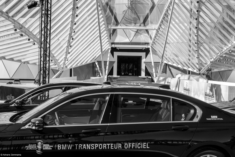 Photo of BMW. Transporteur officiel du Festival du film de Marrakech