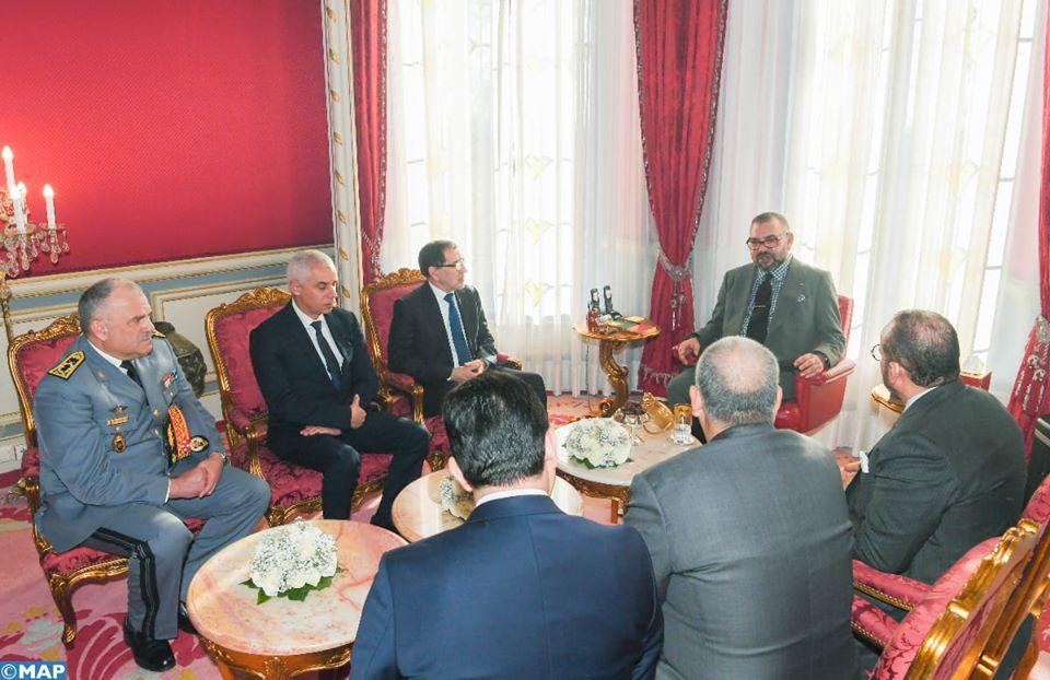 Photo de Instructions royales pour rapatrier la centaine de Marocains de Chine