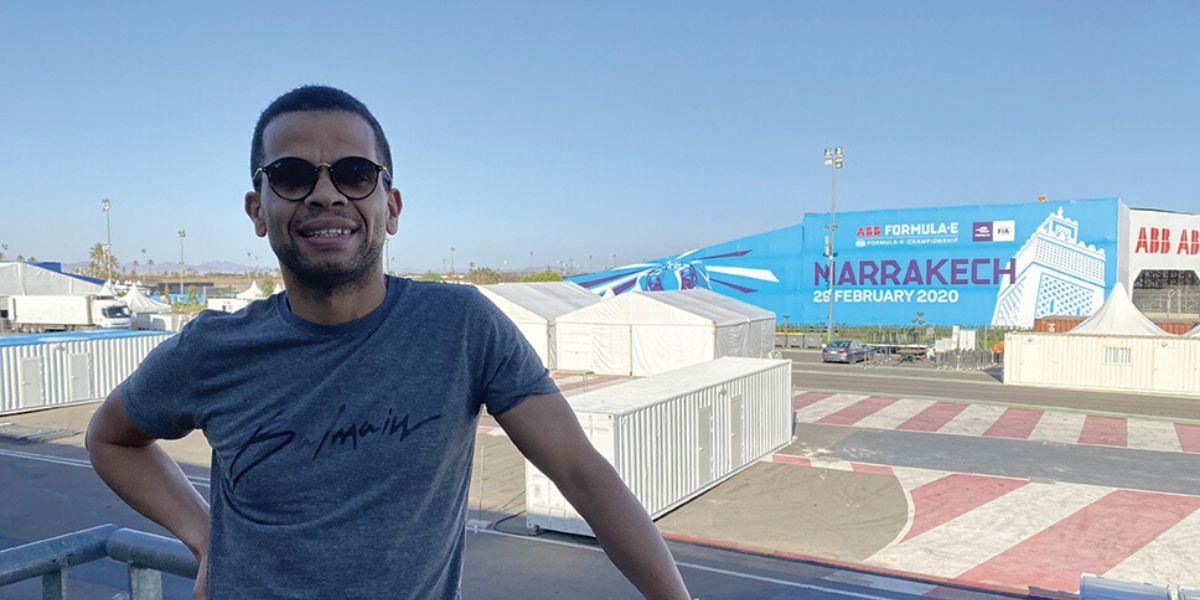 Photo de Marrakech ePrix. Aly Horma liste les grandes nouveautés