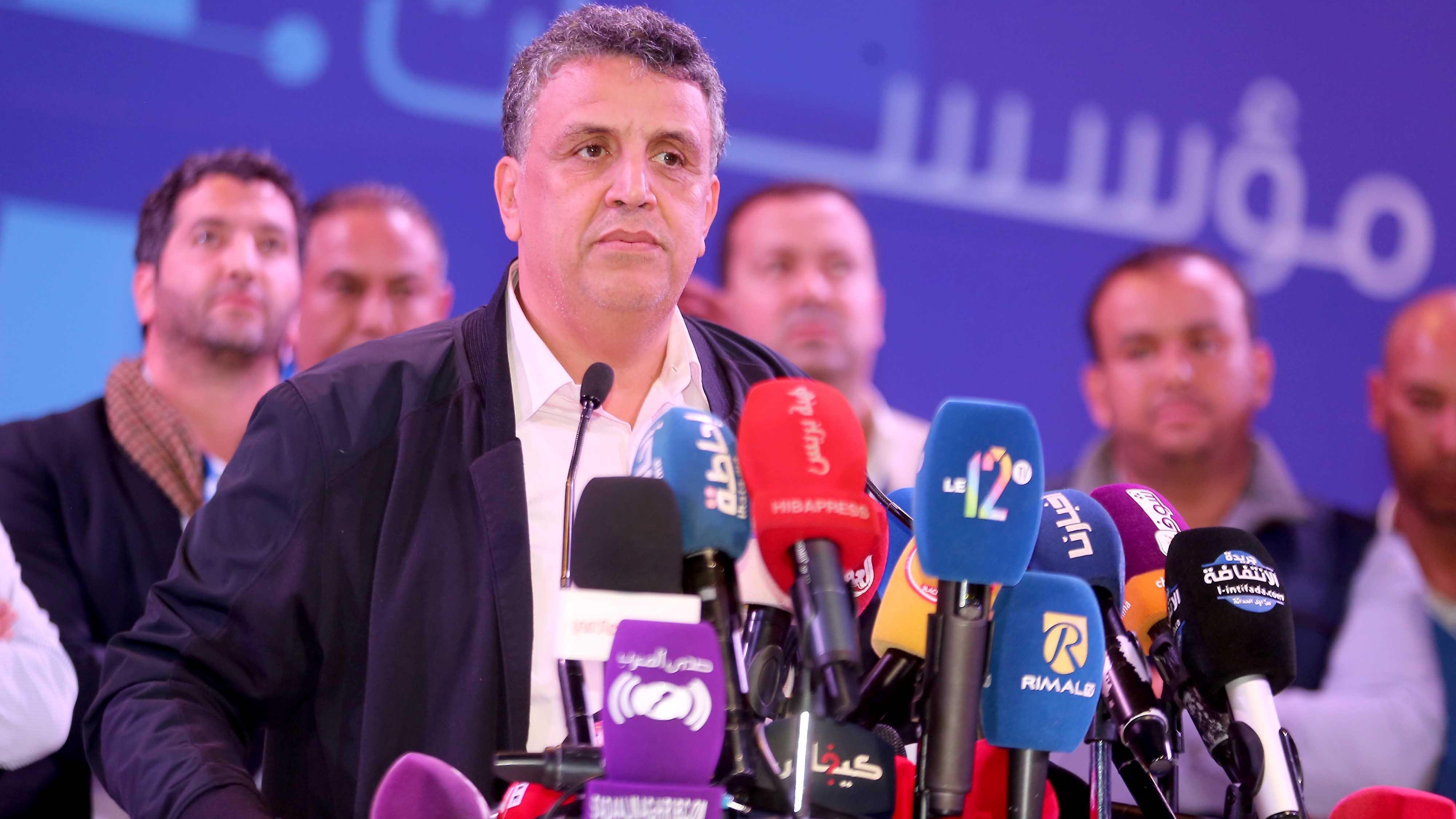 Photo de PAM. Le roi félicite Abdellatif Ouahbi suite à son élection