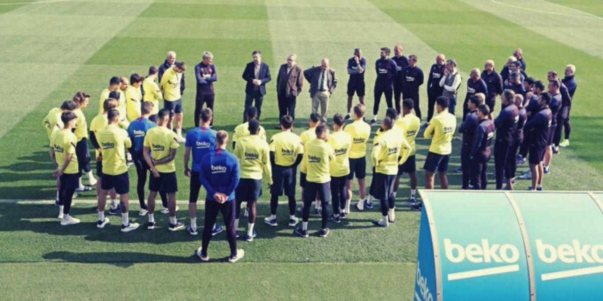Photo de Coronavirus: après le Real, le Barça en congé forcé