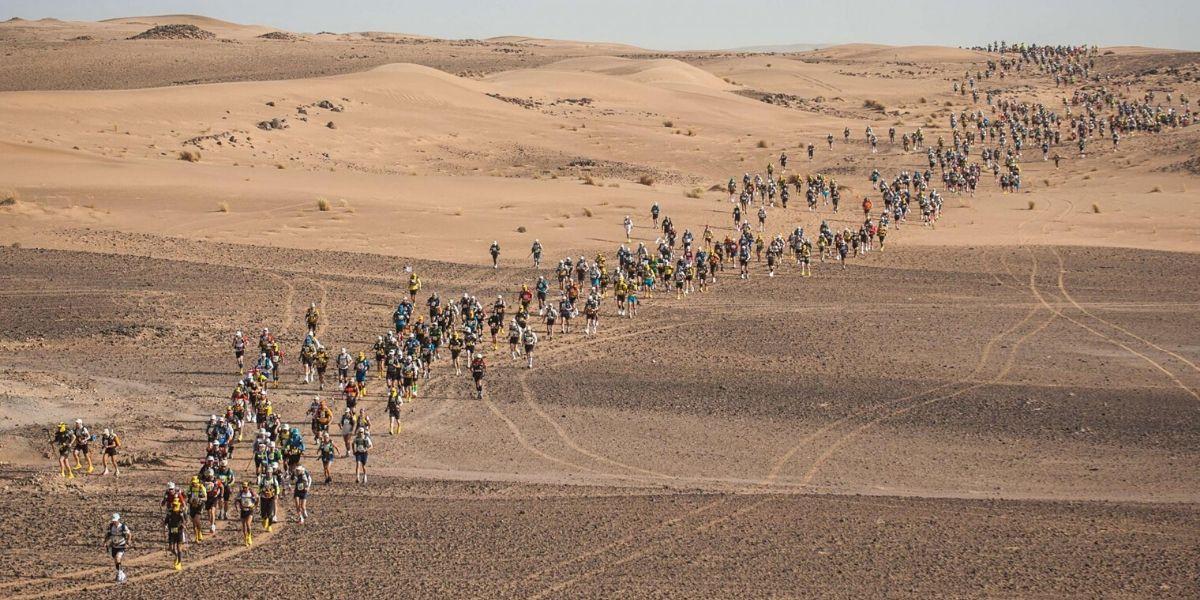Photo de Marathon des sables: rendez-vous en septembre !
