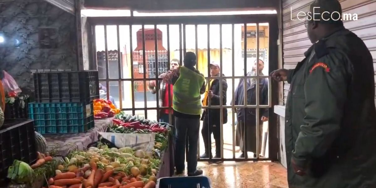 Photo of Souk Al Qods à Casablanca: les autorités contrôlent le respect de l'horaire de fermeture fixé à 13h
