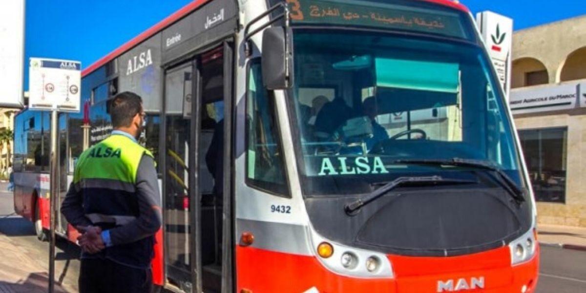 Photo de Casablanca: Alsa dénonce la dégradation de ses bus