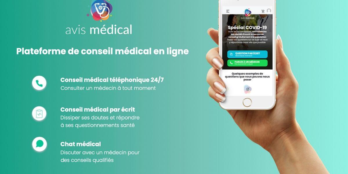 Photo of Avis Médical: une plateforme de conseil médical gratuite durant le confinement