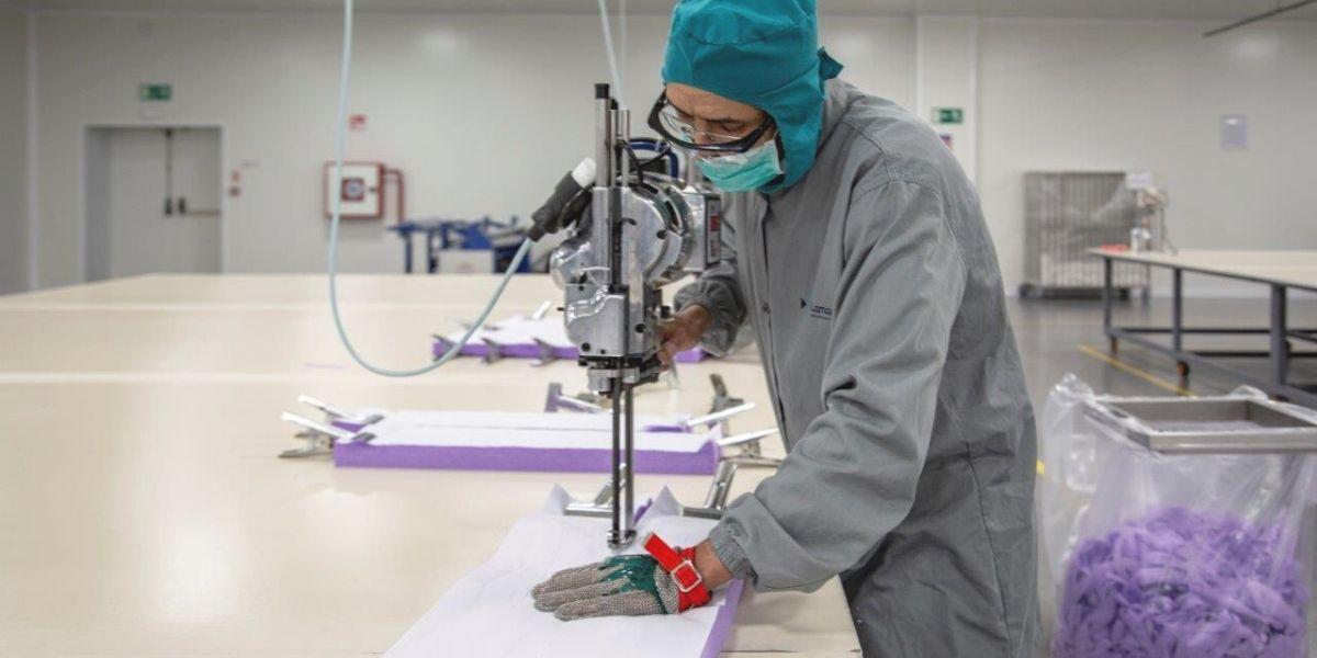 Photo de Textile médical: l'industriel Lamatem se mobilise pour fournir l'Etat