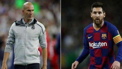 Photo of Zidane commente les rumeurs sur le départ de Messi