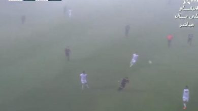 Photo de Botola: un match arrêté… à cause du brouillard (VIDEO)
