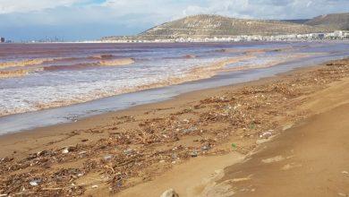Photo de Agadir: des marées de déchets sur la plage, à qui la faute ?